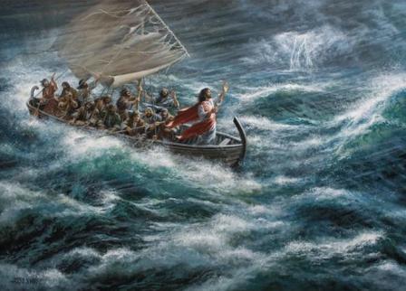 jesus stops the storm