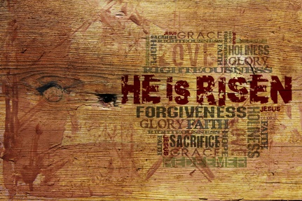 """""""He Is Risen""""Easter Background"""